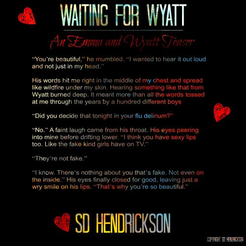 An Emma and Wyatt Teaser 2